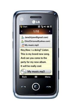 LG GM750 Layla