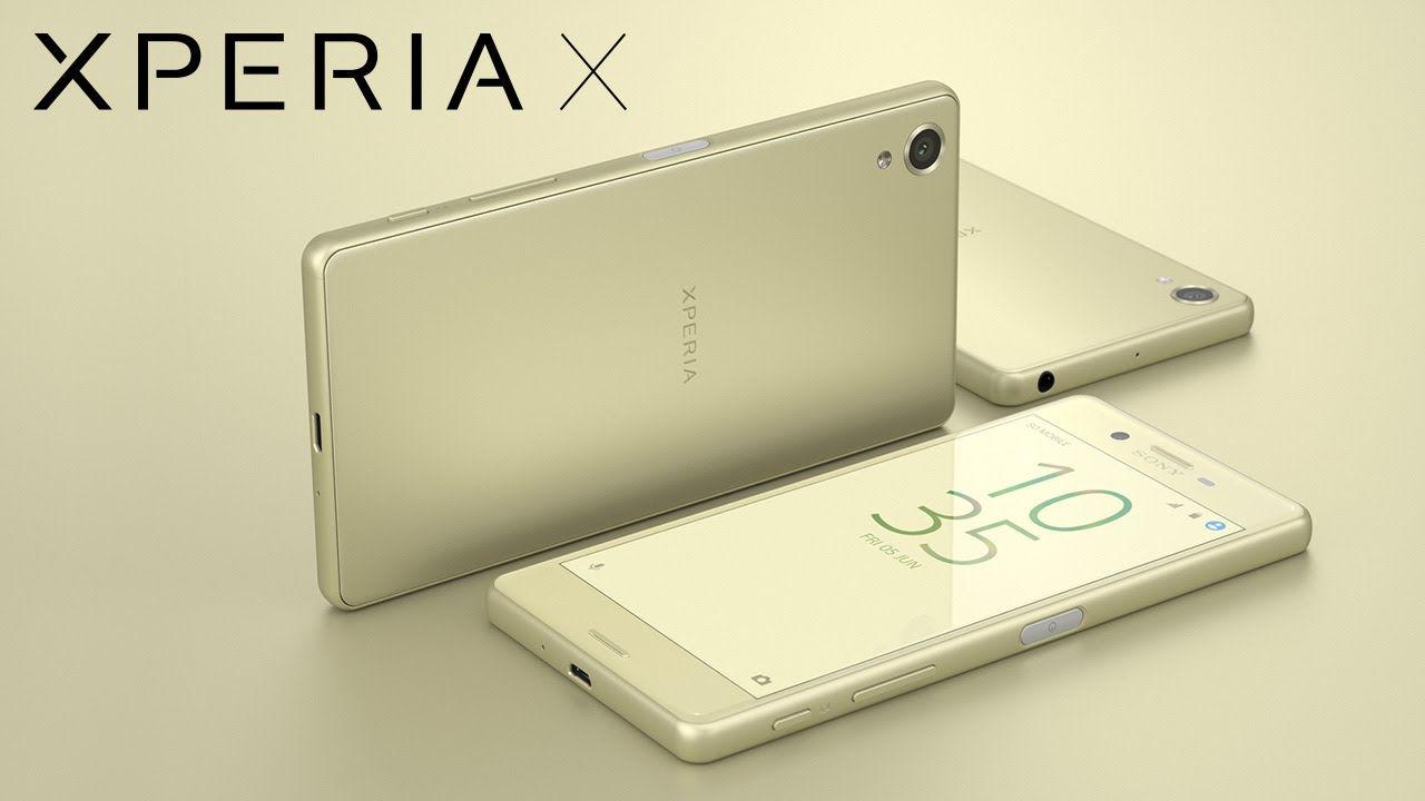 Sony Xperia X a vadonban