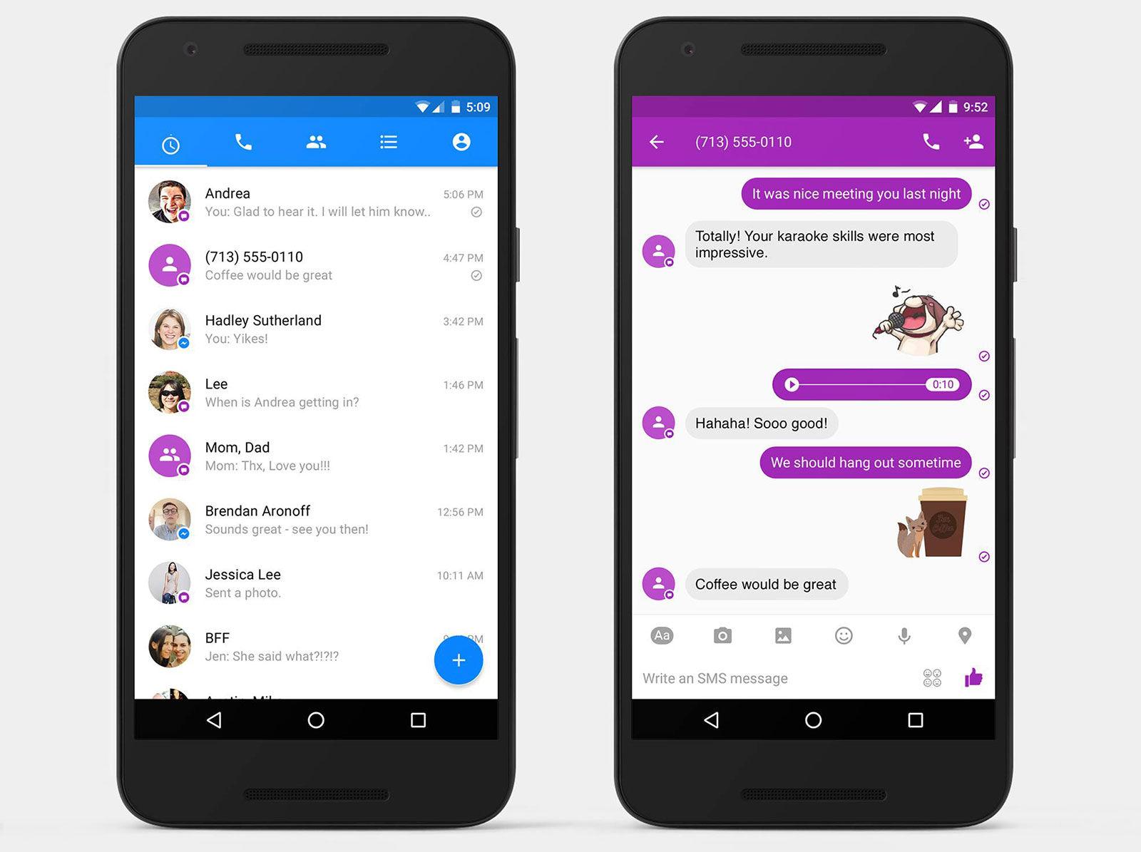 SMS és Facebook üzenetek egy helyen? Igen!