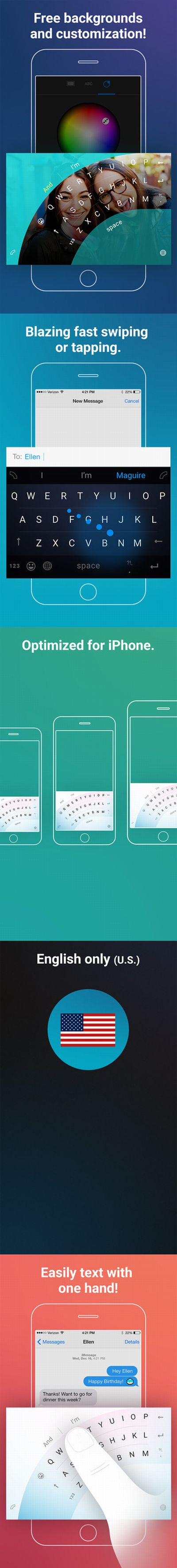 Microsoft Word Flow billentyűzet iPhone-ra