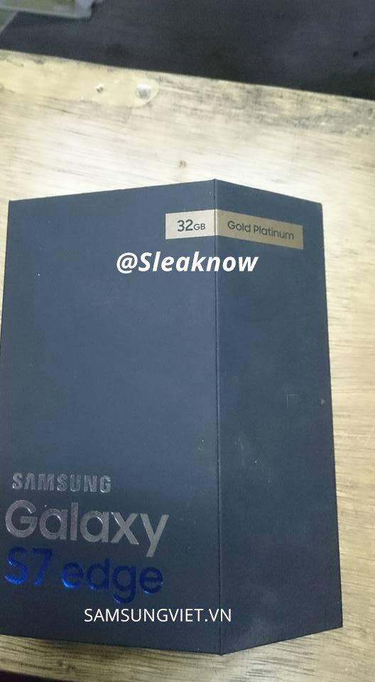 Galaxy S7 edge: órákkal a bejelentés előtt