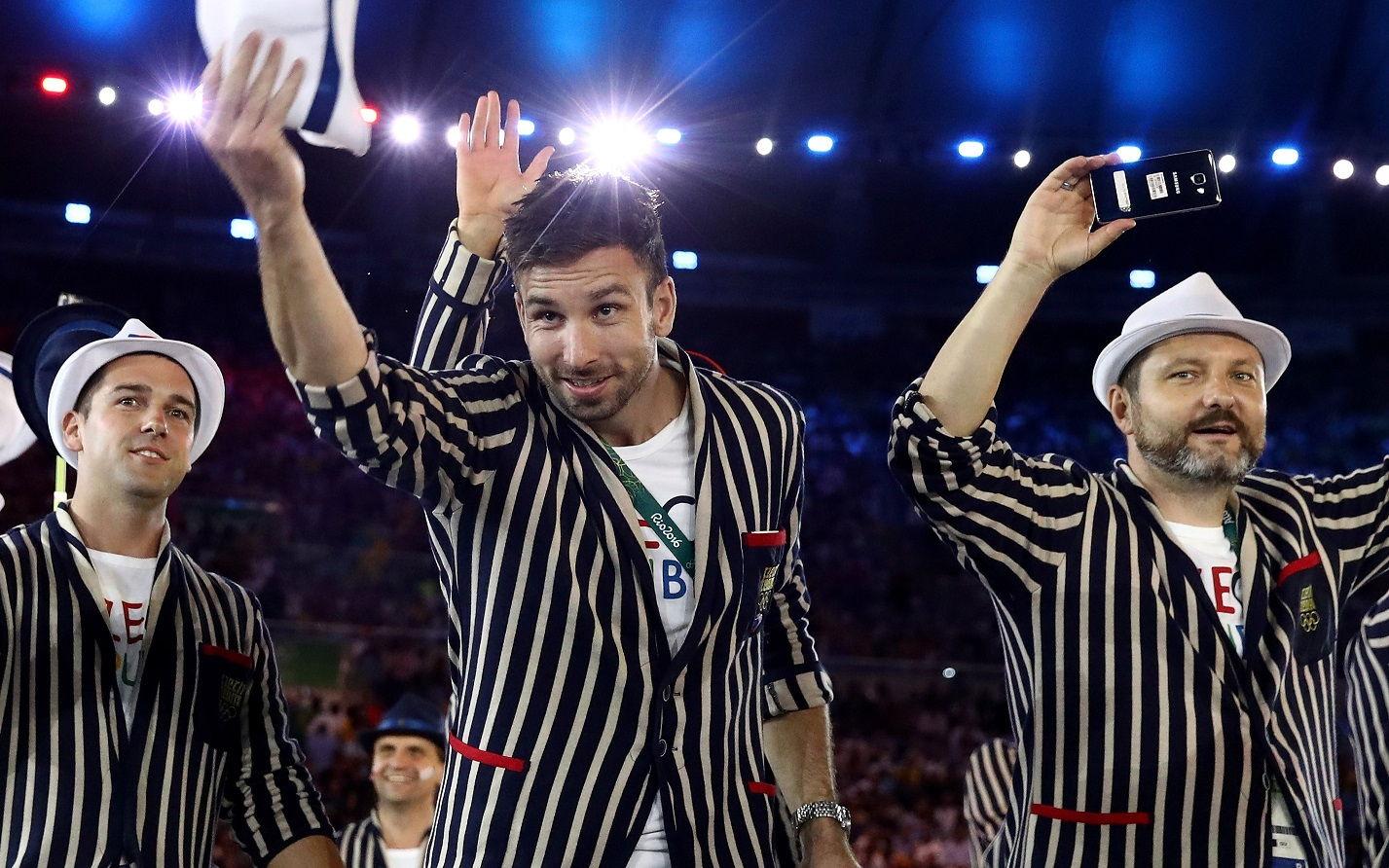 Olimpiai nyitóünnepség az S7 edge kameráján keresztül