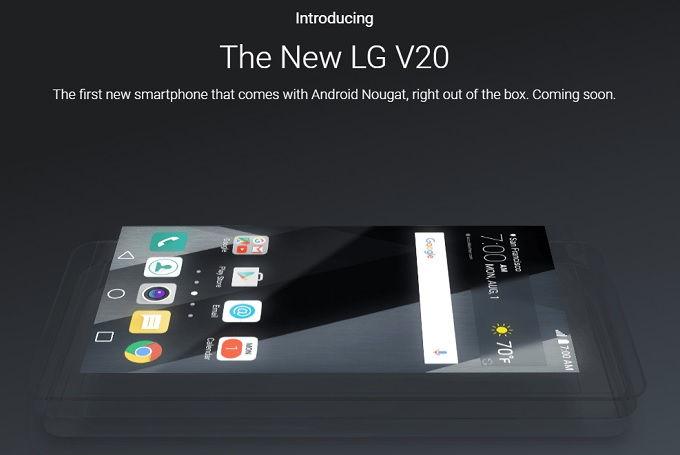 Hivatalos: az LG V20 lesz a világ első Nougat-os telefonja