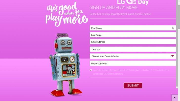 LG G5: fotók és ma bejelentés!