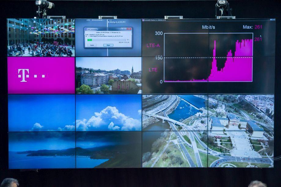 A Telekom újabb 13 városban felkapcsolta a 300 megabites mobilinternetet 4G hálózatán