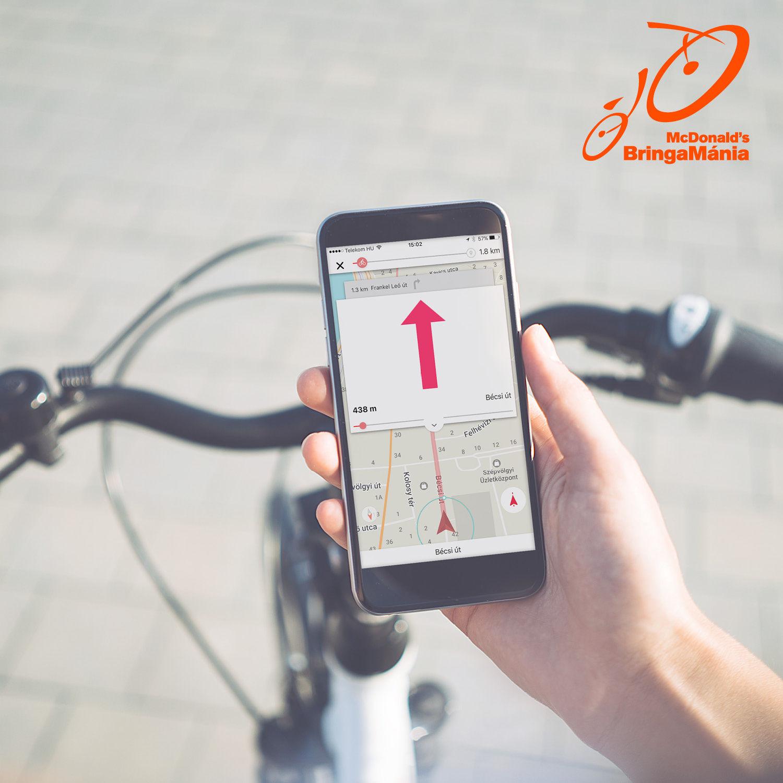 Mindenki nyeregbe! Ingyenes mobil appot fejlesztett a városi bringásoknak a Meki
