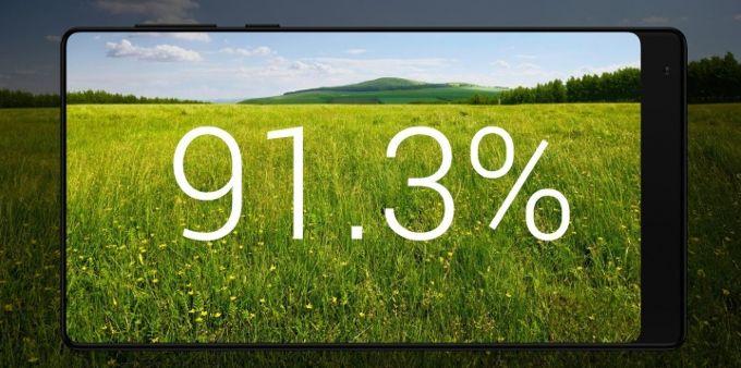 Na ez nem semmi! Xiaomi Mi MIX: 6.4 col, keret nélküli kijelzővel