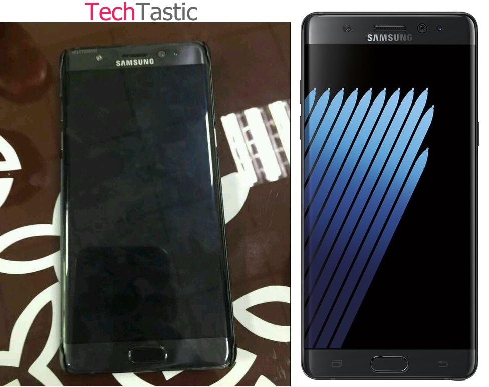 Ezek az elsõ Samsung Galaxy Note 7 edge fotók!