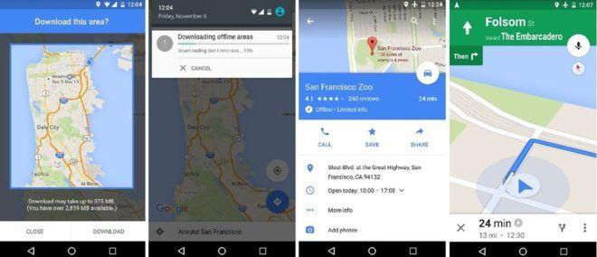 google térkép offline Végre offline is használható a Google Maps!   Telefonguru hír google térkép offline