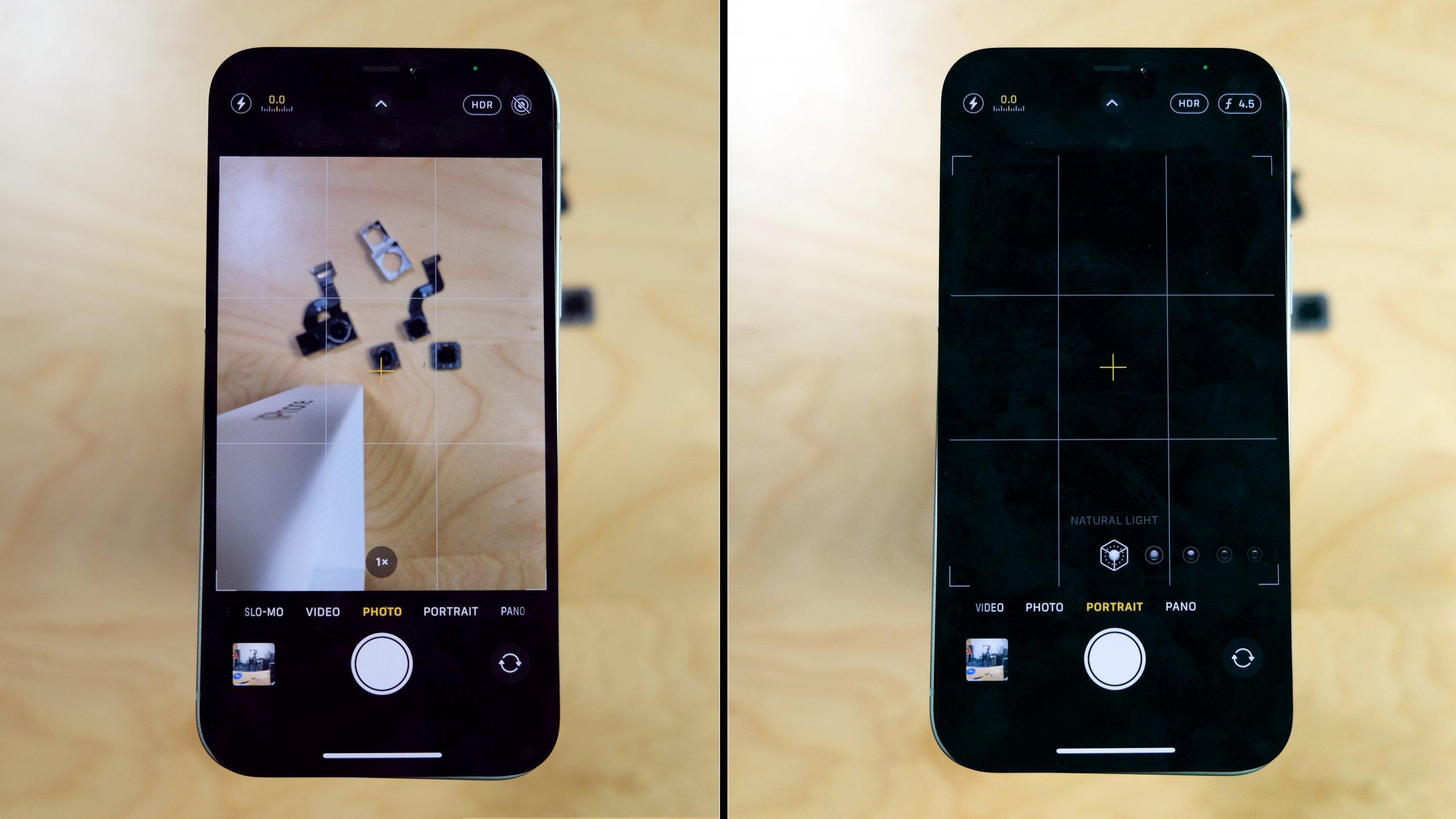Nem lehet fusiban kicserélni az iPhone 12 kameráit