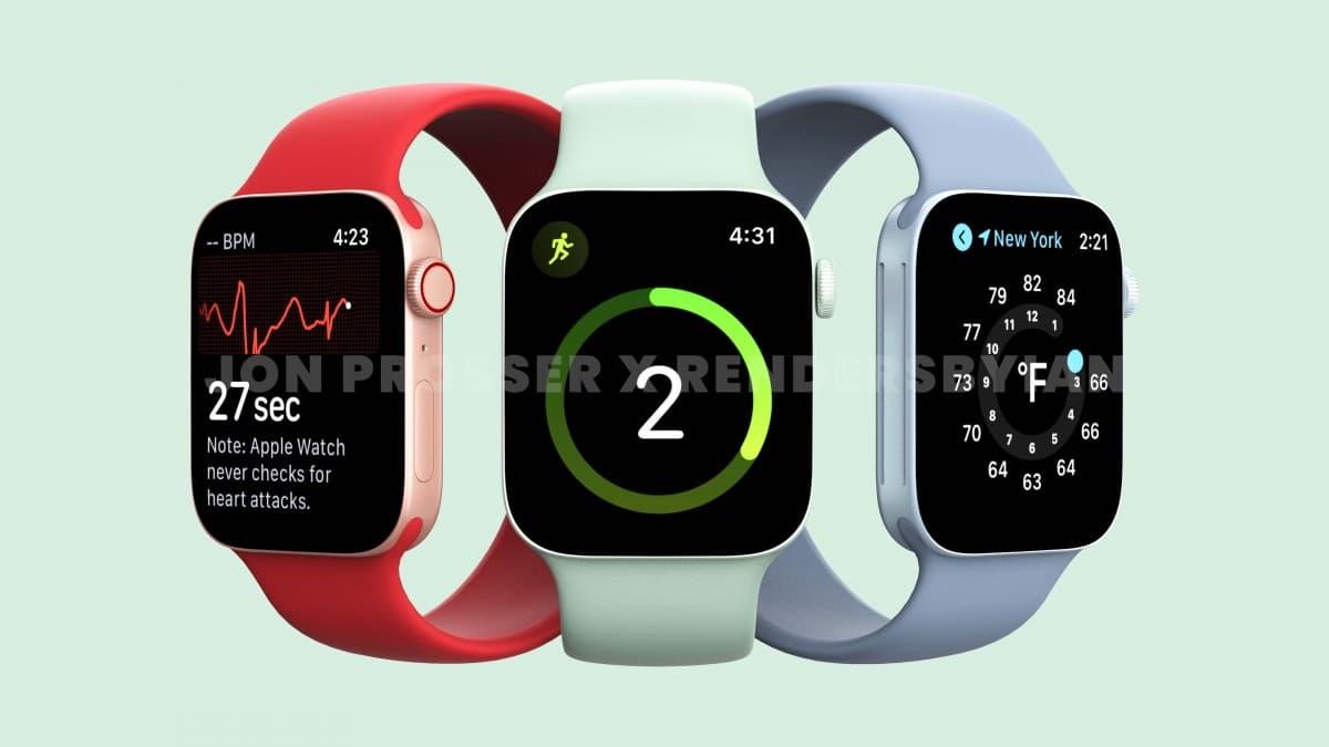 Kíváncsi vagy, milyen lesz az Apple Watch Series 7?