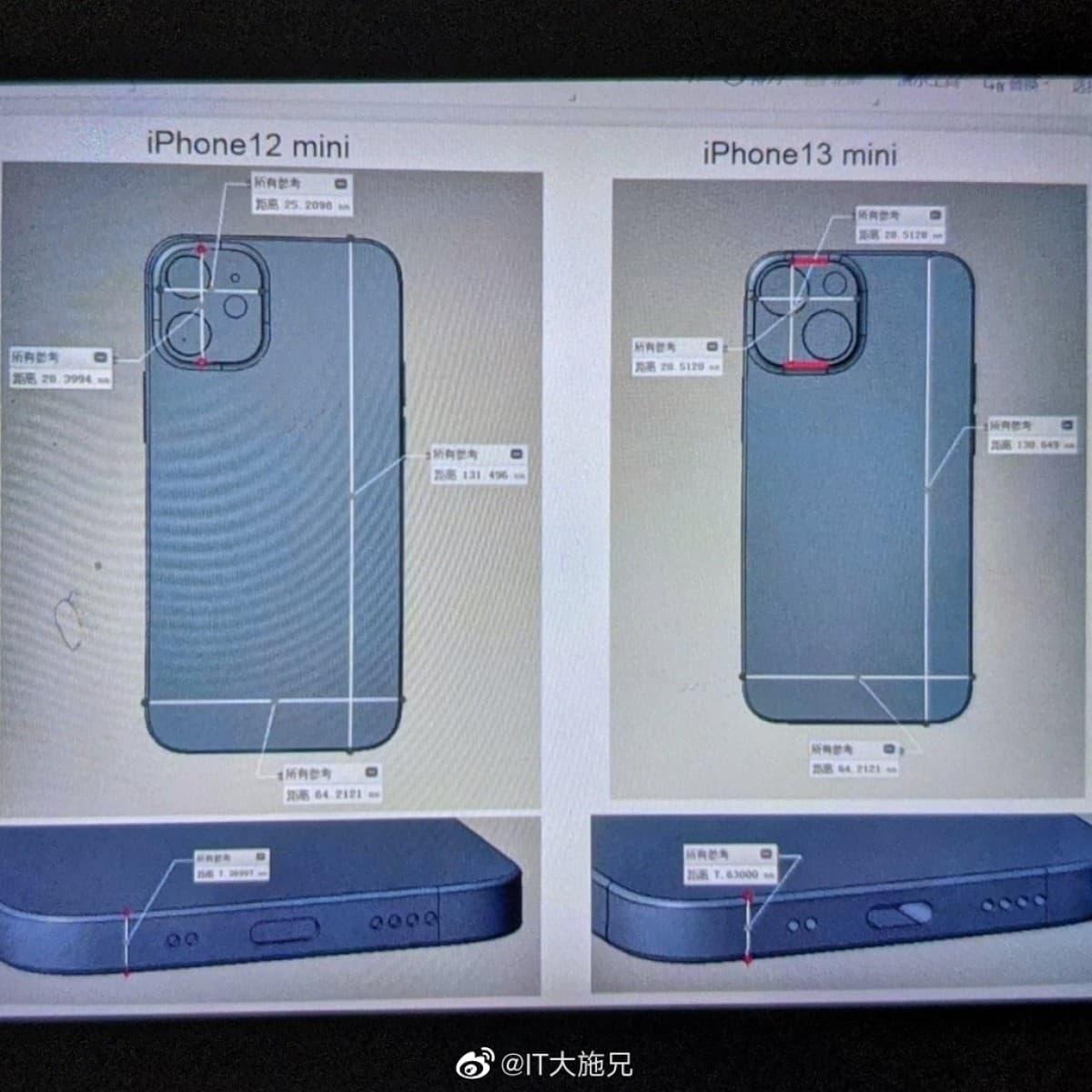 Új dual kamerát kaphat az iPhone 13 mini