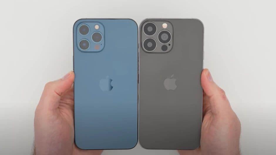 Kézben az iPhone 13 Pro Max