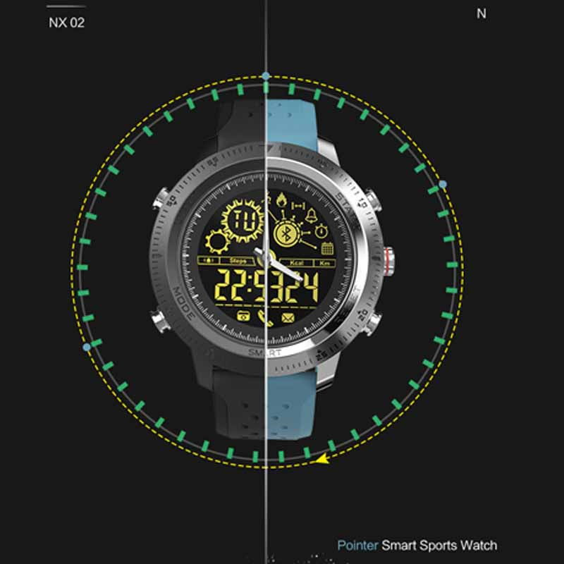 Vizálló sport okos óra NX 02