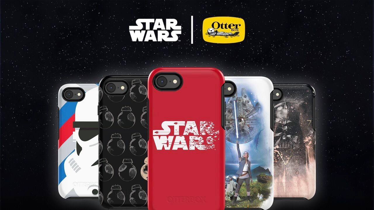 Star Wars tokok iPhone 7/8 mobilokra